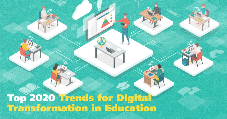 Digital Transformation in Education: Top 2020 Trends