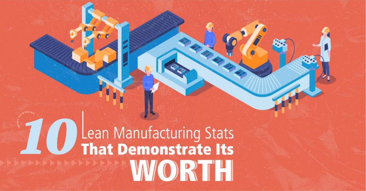 10 Lean Manufacturing Stats That Demonstrate Its Worth
