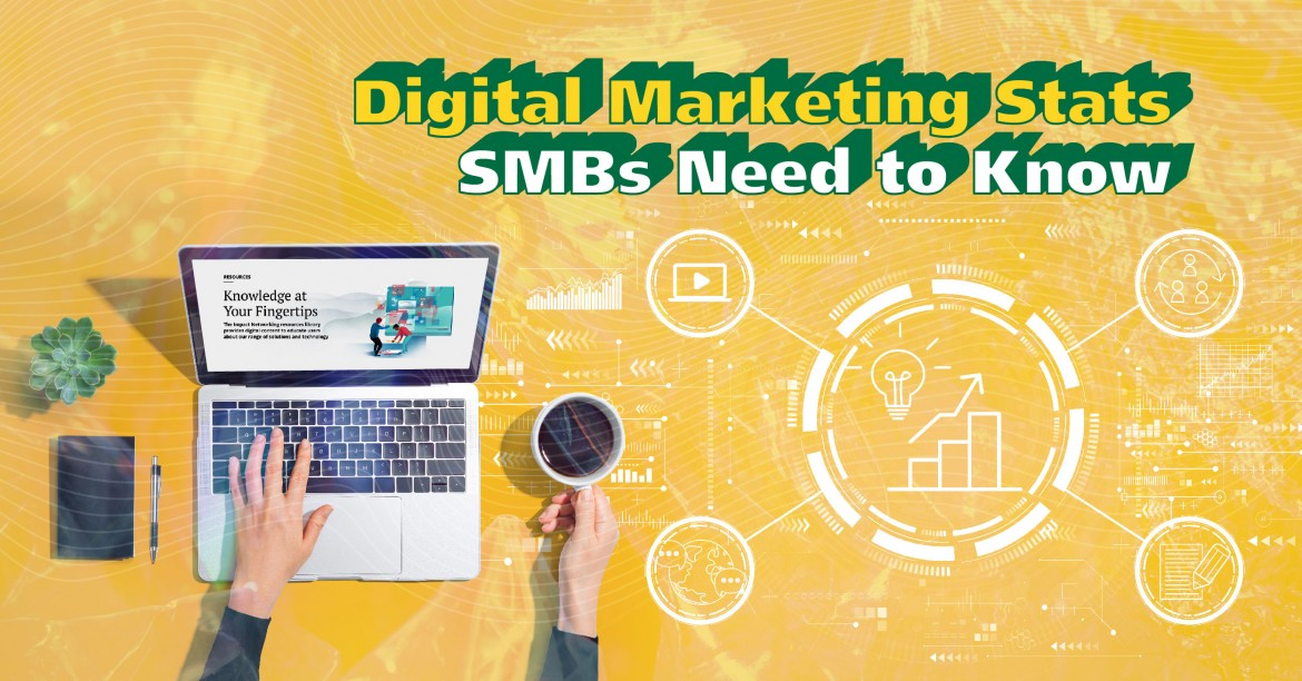 25 Digital Marketing Stats Every SMB Should Be Aware Of