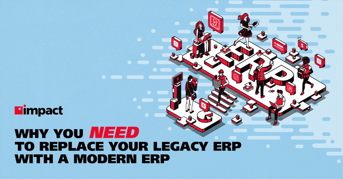 Advantages of ERP Over Legacy Systems