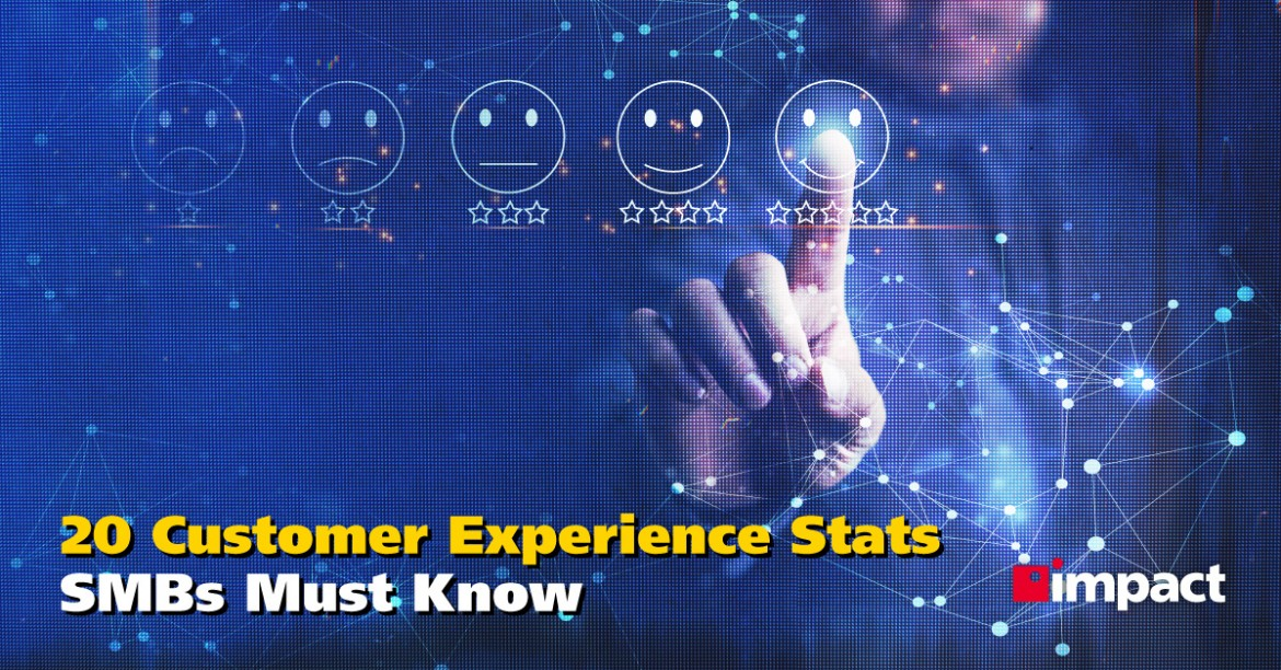 20 Customer Experience Stats SMBs Must Know