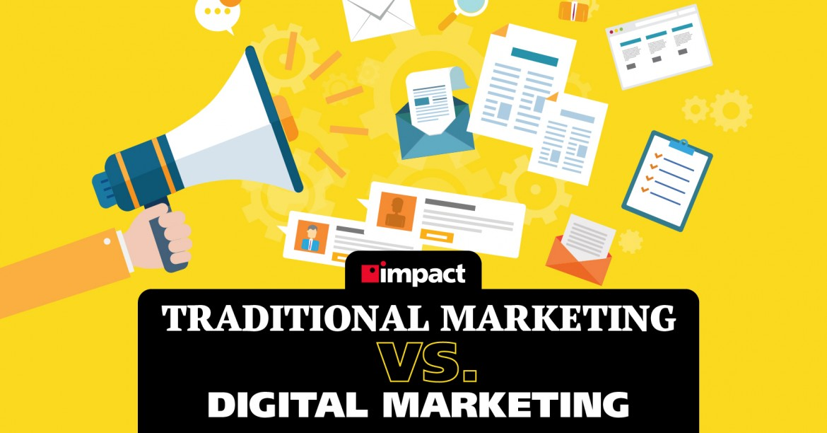 Traditional Marketing vs. Digital Marketing