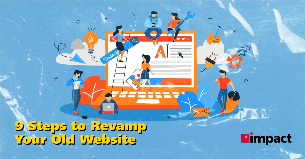 9 Steps on How to Redesign a Website