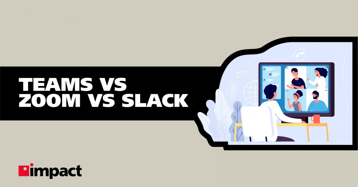 Infographic: Teams vs Zoom vs Slack