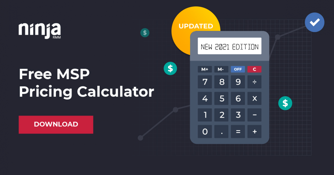 2021 MSP Pricing Calculator Explained