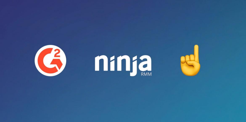 NinjaRMM se classe au 1er rang pour la satisfaction des clients, le temps de mise en œuvre, le support client et les meilleurs résultats